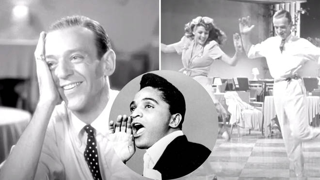 Fred Astaire and Rita Hayworth dancing synced to Jackie Wilson's 'Higher and Higher'