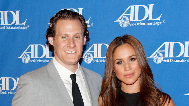 Meghan Markle and Trevor Engelson in 2011