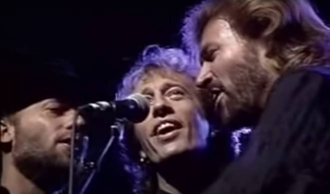 A video of the three Gibb brothers messing around on stage without missing a pitch perfect note, is a reminder of just how extraordinarily talented the Bee Gees really were.