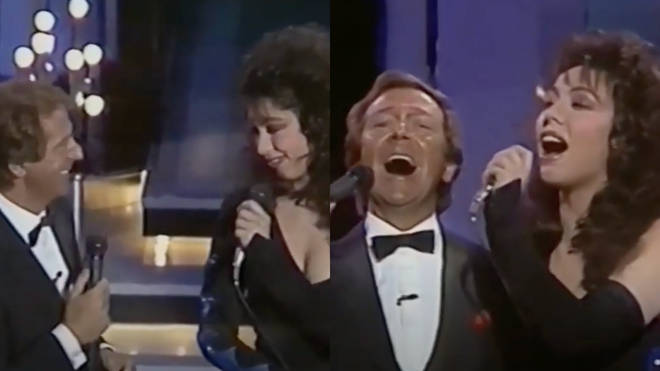 Des O'Connor and Jennifer Rush