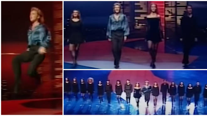 Irish dance champions Jean Butler and Michael Flatley were recruited to choreograph and showcase Ireland's talents to the world and put on a show as the Ireland's interval act at Eurovision 1994.