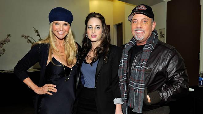 Christie Brinkley, Alexa Ray Joel and Billy Joel in 2010