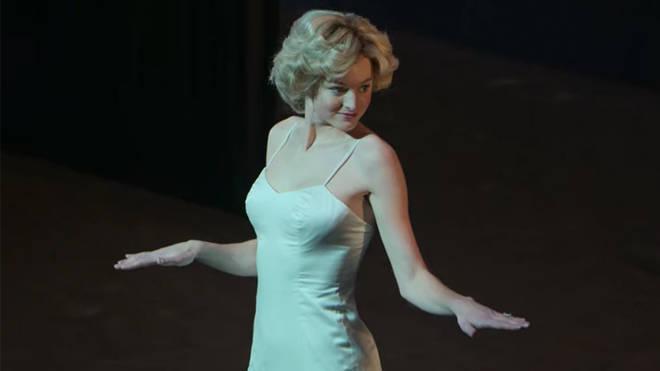 Emma Corrin in The Crown season 4
