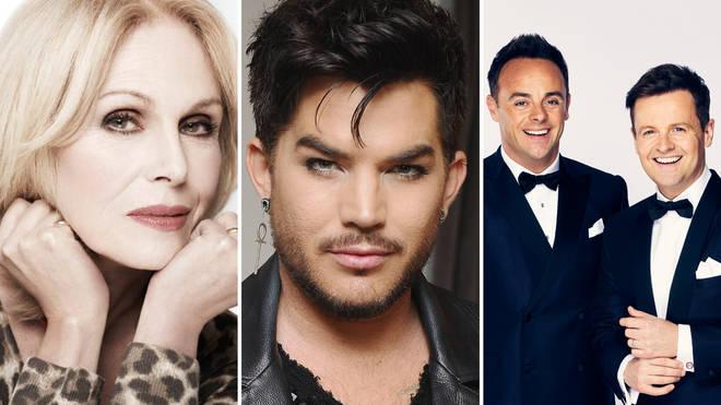 Win a message from Joanna Lumley, Adam Lambert or Ant & Dec!