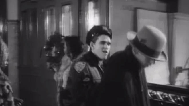 Matt Dillon in the Fairytale of New York video