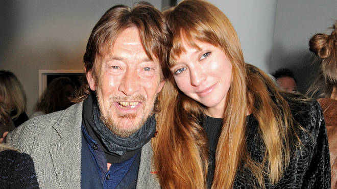 Chris Rea and his daughter Josephine in 2013