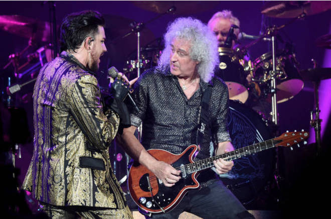 Adam Lambert proceeded to the live rounds of the show and alongside being embraced by the public, was spotted by none other than Queen. Pictured, Adam performing with Queen in 2019.