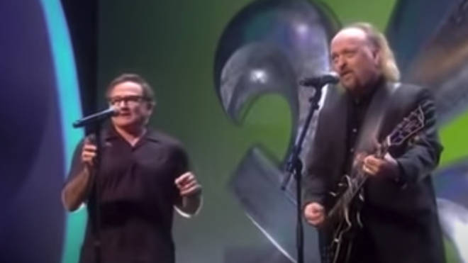 Bill Bailey and Robin Williams