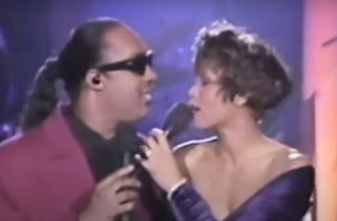 When two of America's finest ever singers, Whitney Houston and Stevie Wonder, teamed up in a duet, it was inevitable that the ensuing performance would be sensational.