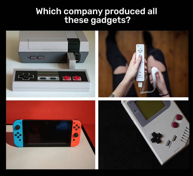 Which company makes all these gadgets?