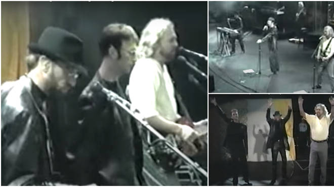 The Bee Gees performing on day two of L.A's Wango Tango Festival in 2001 would be the last time the brothers would be captured singing together on camera.