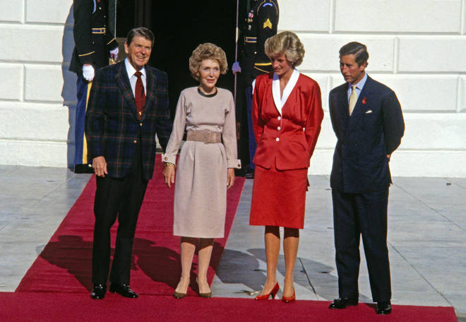 The iconic moment occurred when Diana and Prince Charles were on their official trip to the United States in November 1985 and were invited by the then President, Ronald Reagan, as guests to a gala dinner at the White House.