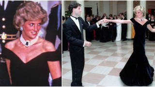 It was later revealed that while Diana's dance with Travolta is now lauded as one of the most famous of all time, it almost didn't happen: The Princess, it seemed, had her eye on someone else for the iconic spin across the dancefloor.