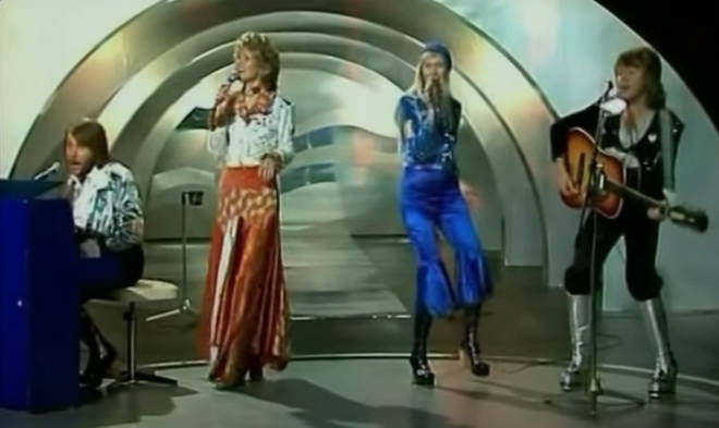 When the four members of ABBA sang their new song 'Waterloo' in its original Swedish, dressed in glam rock inspired by the 1970's English music scene, viewers knew they'd seen something special.