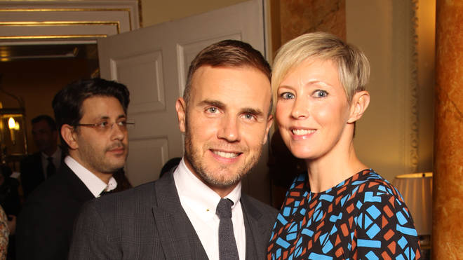 Gary Barlow and wife Dawn in 2012