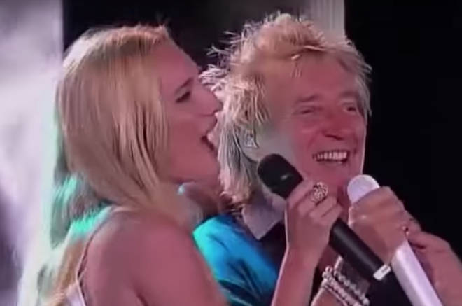 """Rod and Ruby Stewart gave a staggering rendition of &squot;Forever Young&squot; at the Festival de Viña del Mar in Chile in 2014, a song he&squot;s previously said is """"a real heartfelt song about my kids."""""""
