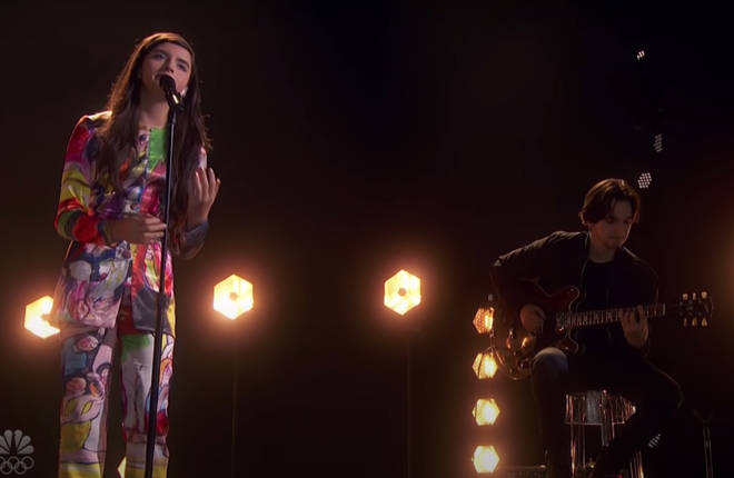 Angelina Jordan, 13, was competing on America's Got Talent: The Champions when she sang an emotional stripped back version of Freddie Mercury's hit song 'Bohemian Rhapsody' blowing the judges - and the world - away.
