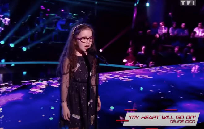 The youngster, who suffers from a genetic eye disease that is gradually turning her blind, was competing in the semi-final of the show when she gave the spectacular performance.