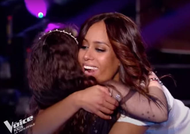 The judges hugged Emma and priased her performance which saw her go on to win the final of the show.