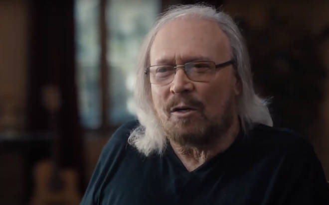 The movie features interviews with some of music's most influential artists who give their first hand insights into the Bee Gees, including Eric Clapton, Lulu, Chris Martin and, of course, Barry Gibb himself (pictured).