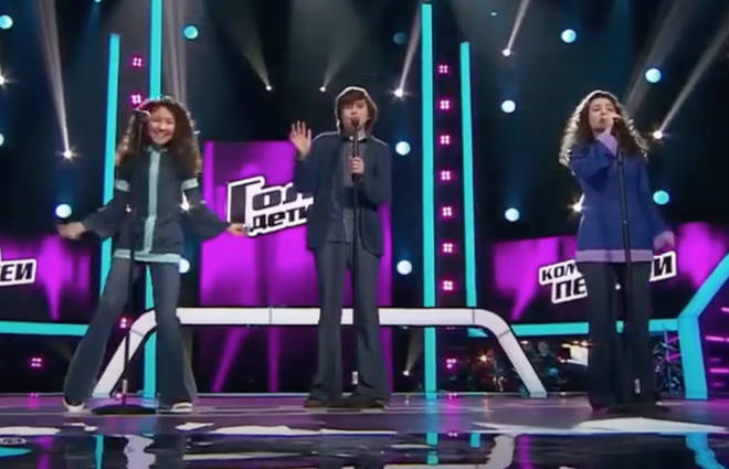 Taking to the stage for the Battles round of the show, the three youngsters chose Barry, Maurice and Robin Gibb's 1977 classic to compete for a place in the quarter finals.