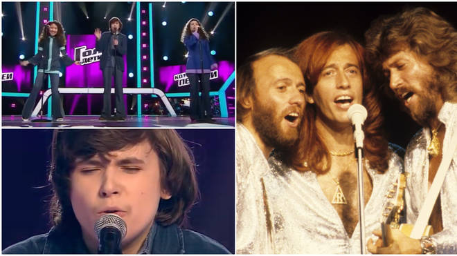 Renata Tairova, 12, Artem Kukin, 13 and Anna Avazneli, 14 were competing on season 6 of The Voice Kids Russia when they gave a staggering performance of the Bee Gees' 'Stayin' Alive'.