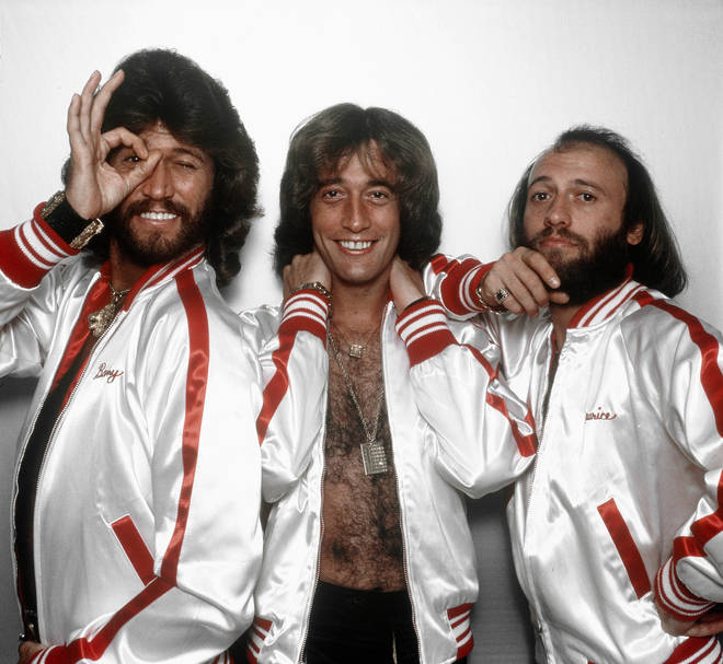 Taking to the stage for the Battles round of the show, the three youngsters chose Barry, Maurice and Robin Gibb's 1977 classic to compete for a place in the quarter finals. Pictured, the Bee Gees in 1977.