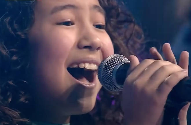 The 2015 clip was filmed during the seventh episode of the show where Renata (pictured) was chosen to go through the the next round.