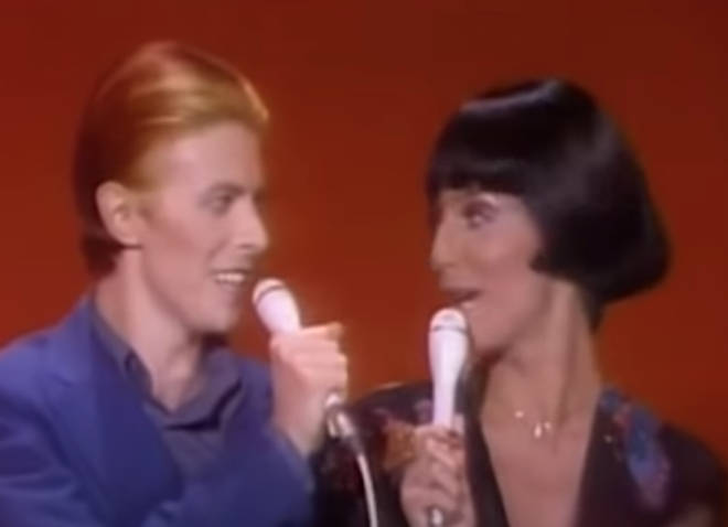 Bowie was invited to appear of Cher's hugely successful TV series Cher where the duo filmed a live duet that would be aired on November 23, 1975.