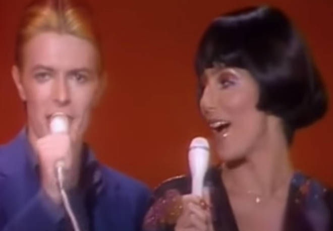 Despite his calm demeanour, Bowie would later admit he recalls little of his duet with Cher as he was in the throes of advanced substance abuse at the time.
