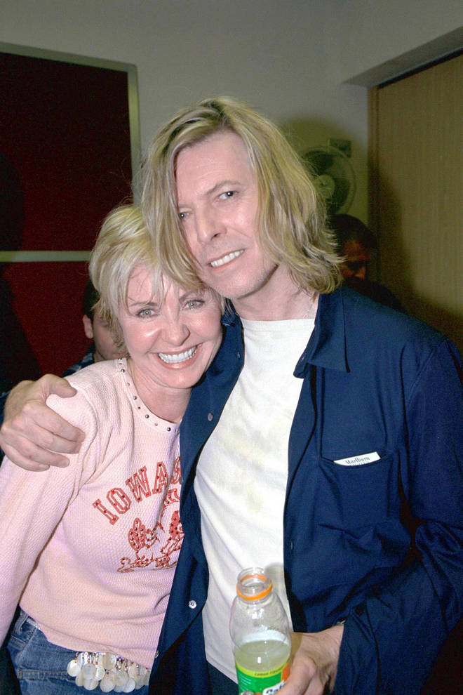 """""""Lulu&squot;s got this terrific voice, and it&squot;s been misdirected all this time, all these years,"""" David Bowie said of his original recording partner, Lulu, in 1974. The pair pictured in 2000."""