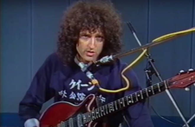 Brian May calmly showcasing how to play the solo from 'Bohemian Rhapsody' by slowly playing the famous song, is the satisfying video we didn't know we needed.