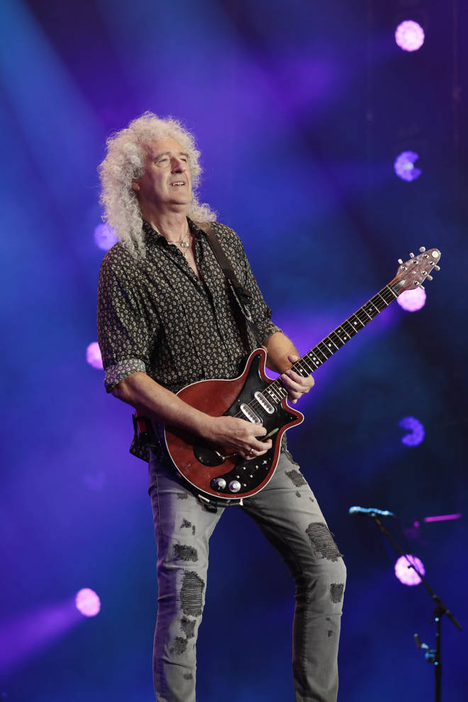 Queen is still as popular as ever and saw their latest album, Live Around The World with frontman Adam Lambert, going to number one in the UK in October 2020. Brian May pictured in February 2020.