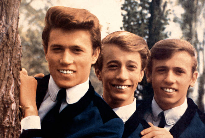 Barry Gibb has released a song from his new album and this time it's a stunning love song he wrote with his brothers Robin and Maurice when they were just young kids. Pictured in 1964
