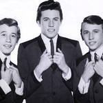 'Butterfly' is the latest song to be released ahead of Sir Barry Gibb's new country album Greenfields: The Gibb Brothers Songbook, Vol. 1 on January 8, 2021. Pictured left, Barry Gibb, right, The Bee Gees in 1964.