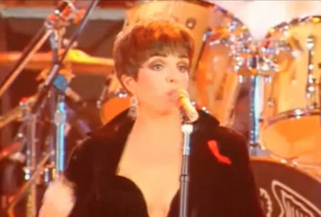 The huge concert, held on Easter Monday April 20, 1992 saw some of the world's greatest superstars come together for the Wembley Arena gig, where Freddie's great friend Liza Minelli was invited to perform the very last song of the evening.