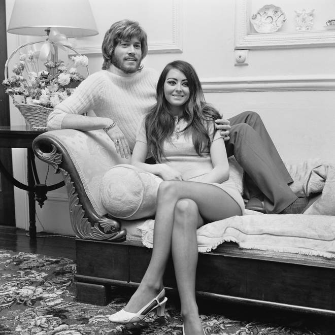 """Linda, along with me, has seen everything you can see if you're a pop group on the rise. She never missed anything and that's something to take great comfort from."" The couple pictured the year they married in 1970"