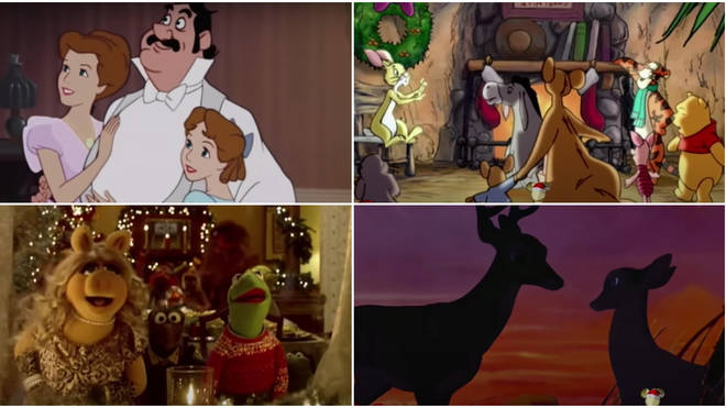 The Queen frontman was accompanied by clips from the greatest Disney classics including The Muppets, Mickey Mouse and Winnie the Pooh.