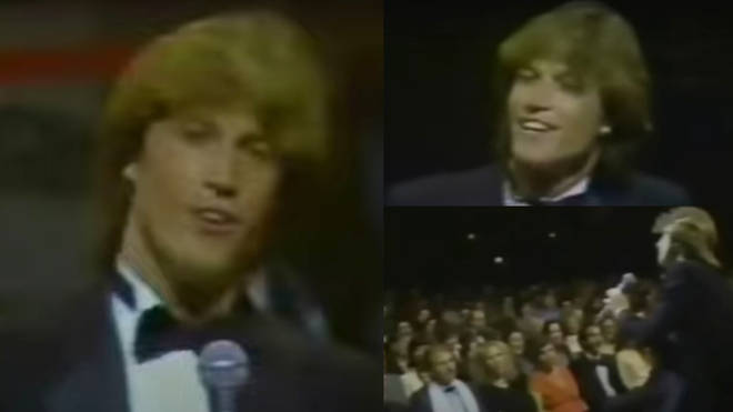 The younger brother of Barry, Robin and Maurice Gibb would often sing with his siblings, but also had a successful singing career of his own. Pictured in New York in 1981