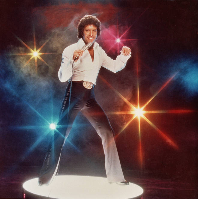 Tom Jones was a huge star in the US and as a result was able to attract the very best musical talent from across the world to his TV show, which he filmed in both the US and the UK. Pictured in 1978