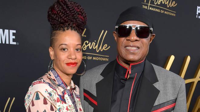 Stevie Wonder and wife Tomeeka in 2019