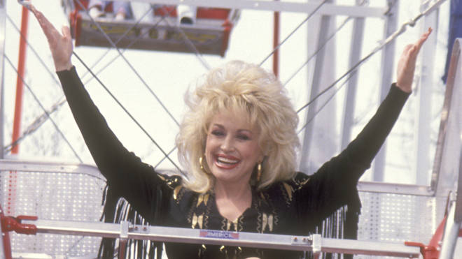 Dolly at Dollywood in 1993