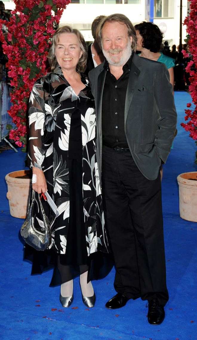 Benny Andersson and wife Mona