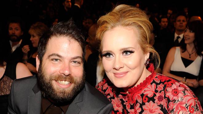 Adele and Simon Konecki in 2013