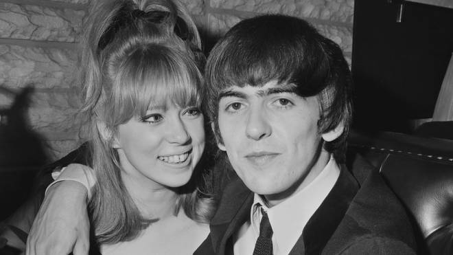 George Harrison with Pattie Boyd in 1964