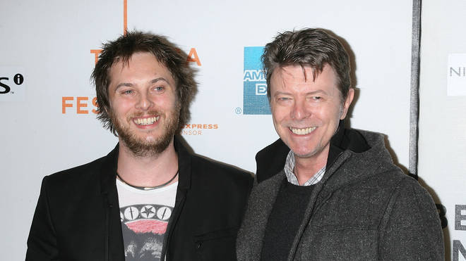 David Bowie and son Duncan in 2009