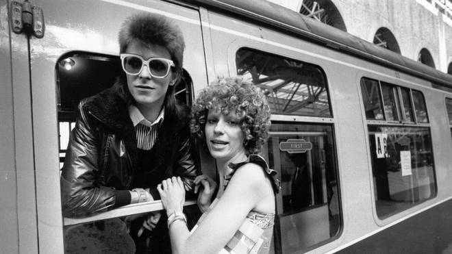 David and Angie Bowie in 1973