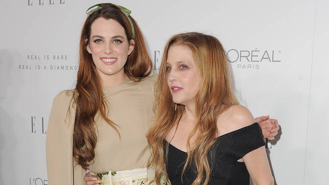 Lisa Marie (right) with daughter Riley Keough (left)