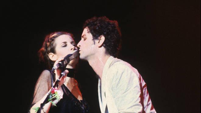 Lindsey Buckingham and Stevie Nicks in 1980
