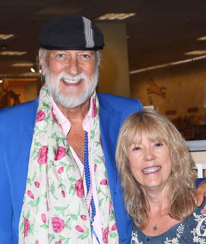 Mick Fleetwood with ex-wife Jenny Boyd in 2014